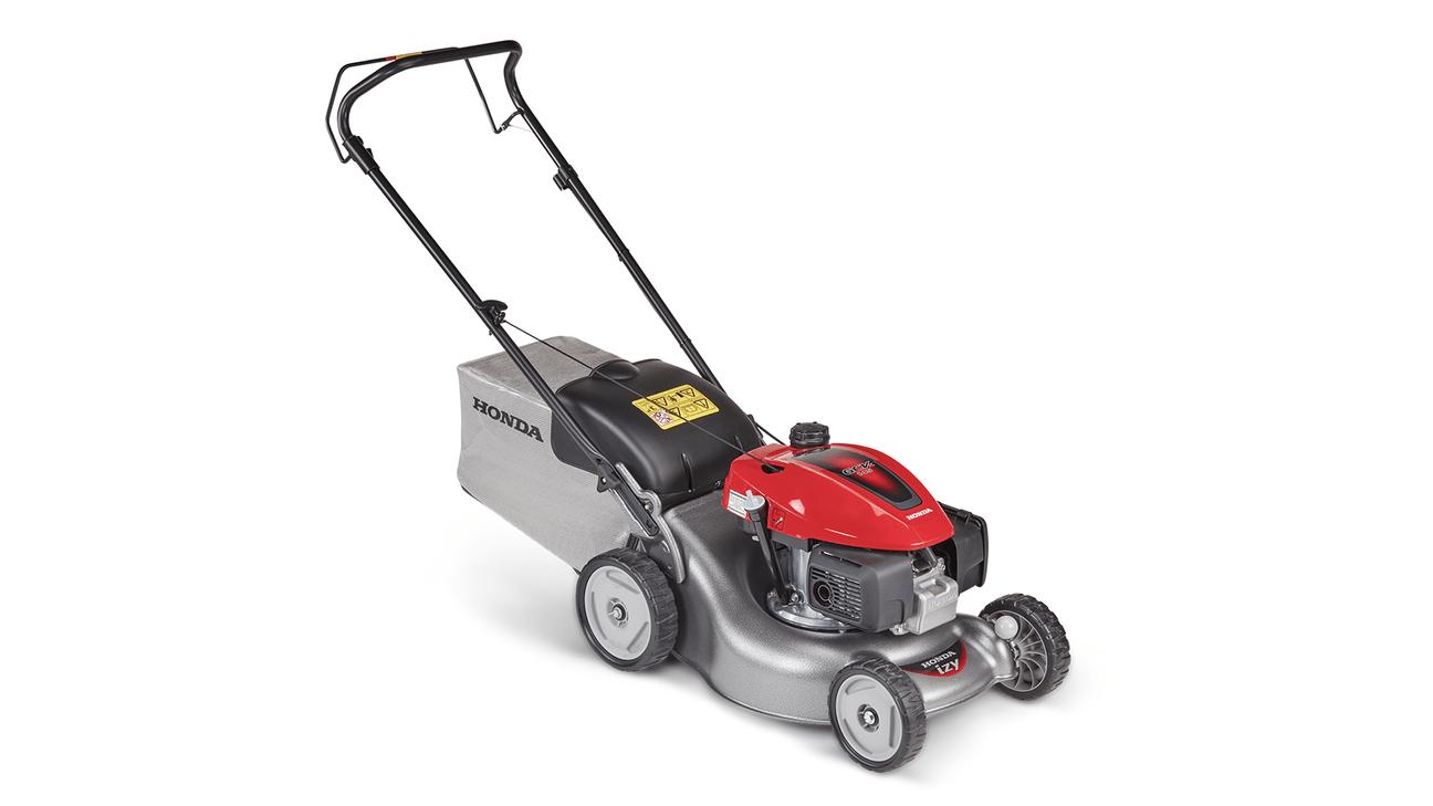 Een grasmaaier van het merk 'Honda'